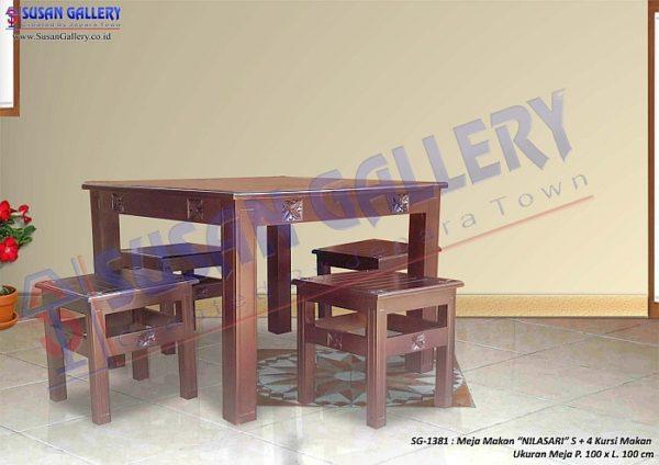 meja makan nilasari