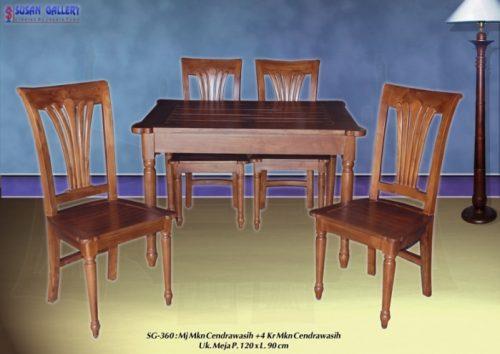 Meja Makan Cendrawasih