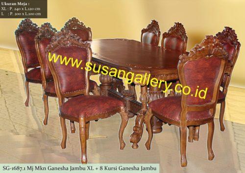 Meja Makan Ganesha Jambu