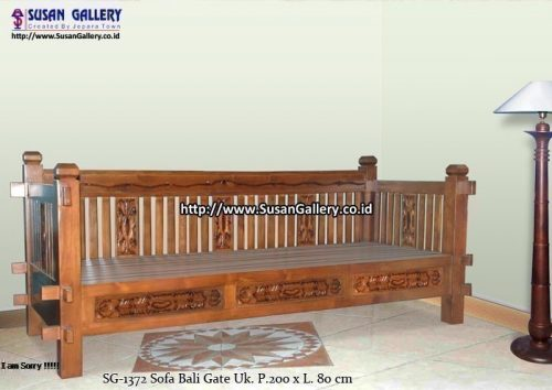 Sofa Tunggal Bali Gate