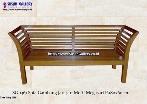 Sofa Gambang Jari jari Megasari