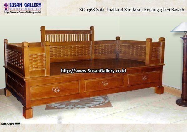 Sofa Thailand Kepang 3 Laci