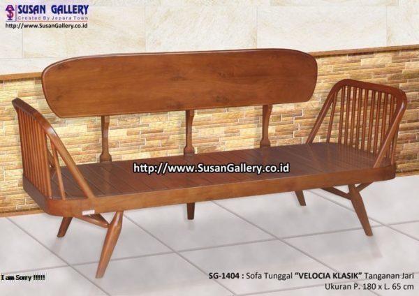 Sofa Tunggal Velocia Klasik